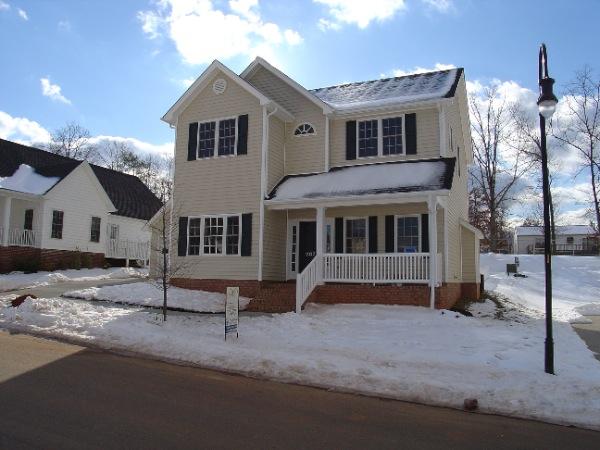 Towny Homes Central Va Construction Inc Custom Home
