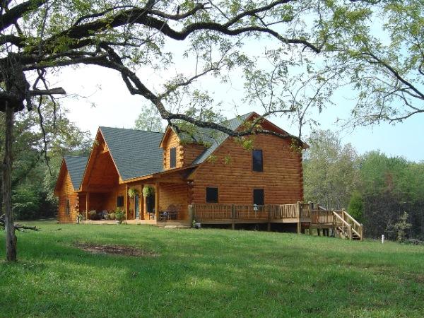 Log Timber Homes Central Va Construction Inc Home